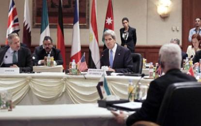 """""""أصدقاء سوريا"""" : رعب من وصول السلاح لجماعات متطرفة"""