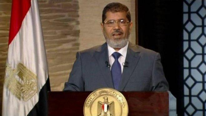 مرسي ينتقد رموز المعارضة والقضاة ويطالب بالتحقيق معهم