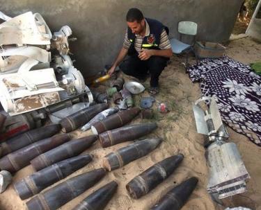 صواريخ محرّمة في غزة وقذائف تصل من رفح لبيت حانون