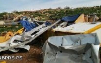 تقرير بناء استيطاني متسارع في القدس وارتفاع غير مسبوق في جرائم هدم مساكن ومنشأت فلسطينية