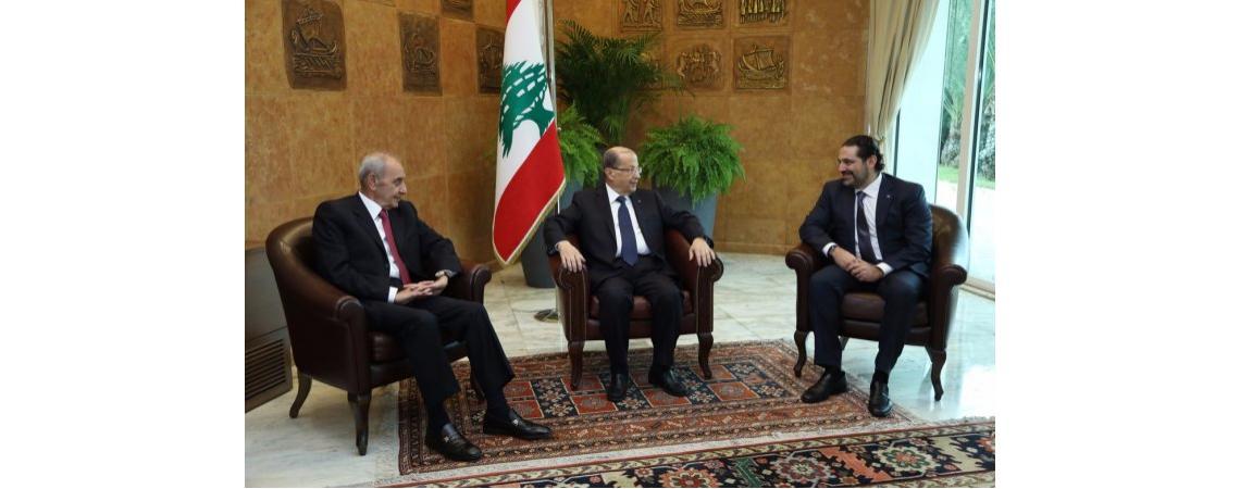 الحريري يعدل عن استقالته رافعـا شـعـــار «لبـنـــان أولا»