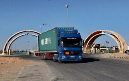 بغداد تعلن وقف تأهيل طريق ''طريبيل'' لأسباب فنية