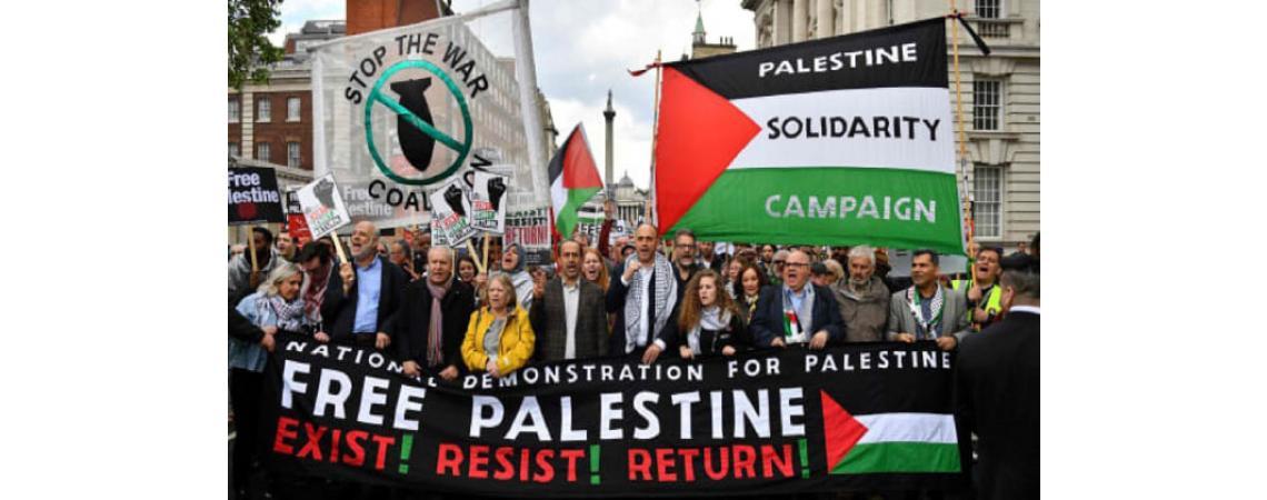 «التضامن مع فلسطين» تهزم الحكومة البريطانية أمام محكمة العدل العليا