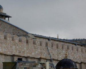 الاحتلال الإسرائيلي يمنع استكمال أعمال ترميم الحرم الإبراهيمي